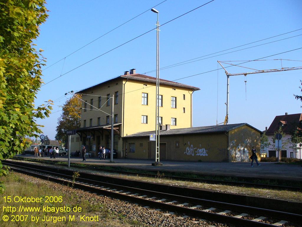 Bahnhof Abensberg