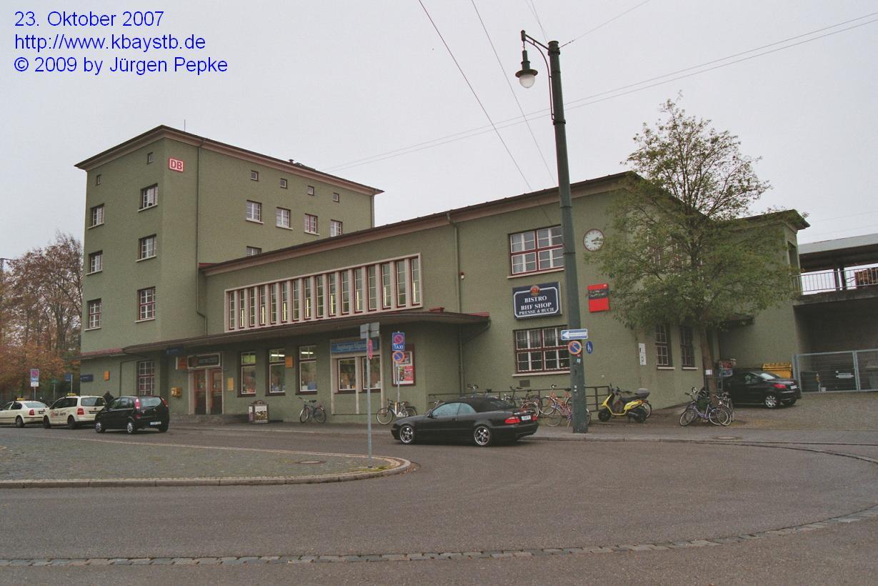 augsburg oberhausen bahnhof